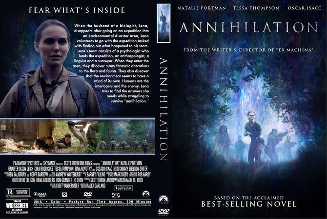 Annihilation (2018) okładka