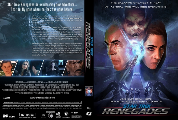 Star Trek Renegades (2015) okładka