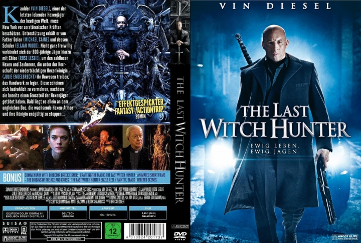 The Last Witch Hunter (2015) okładka
