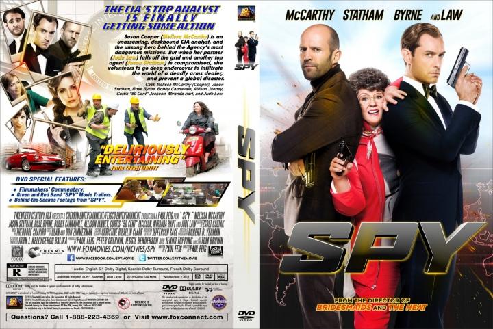 Spy (2015) okładka