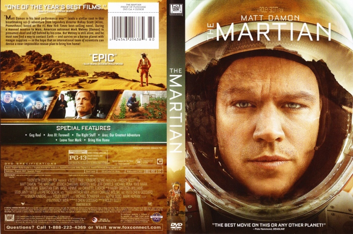 The Martian (2015) okładka