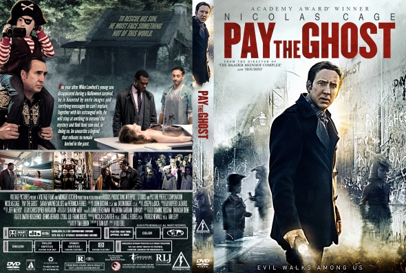 Pay the Ghost (2015) okładka