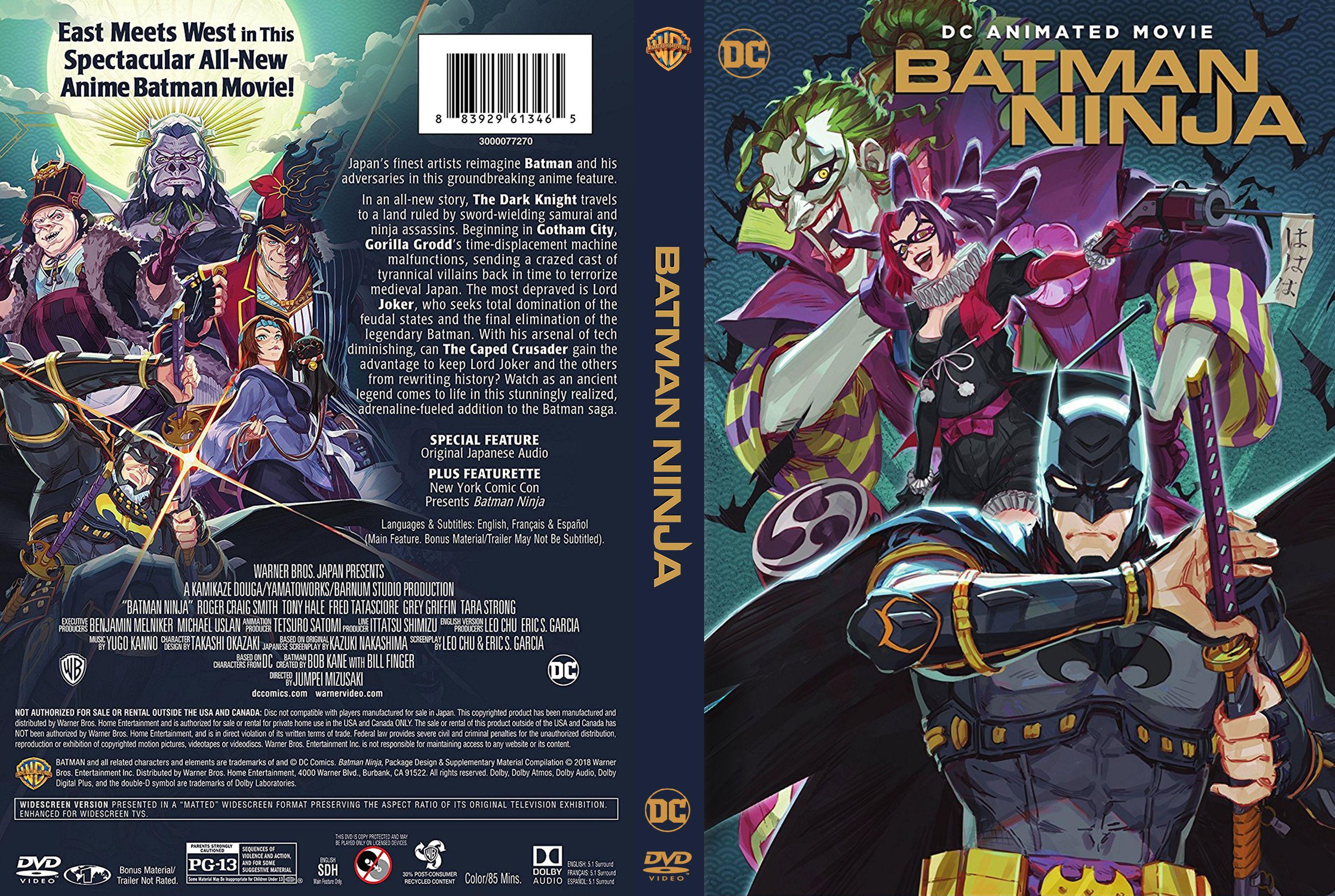 Batman Ninja (2018) lektor PL