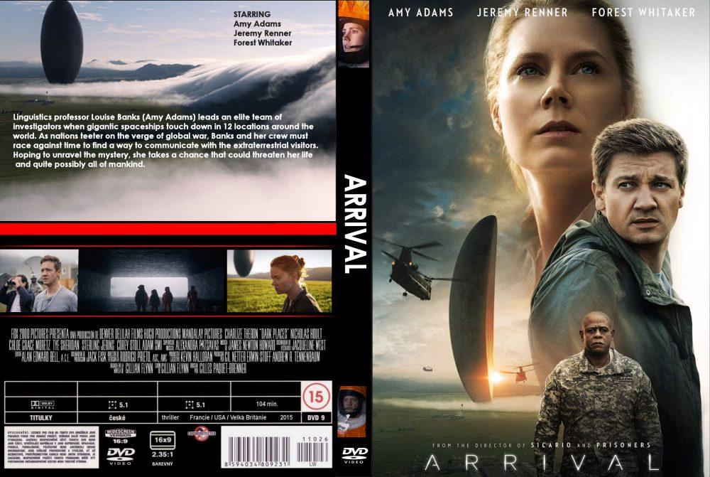 Arrival (2016) okładka