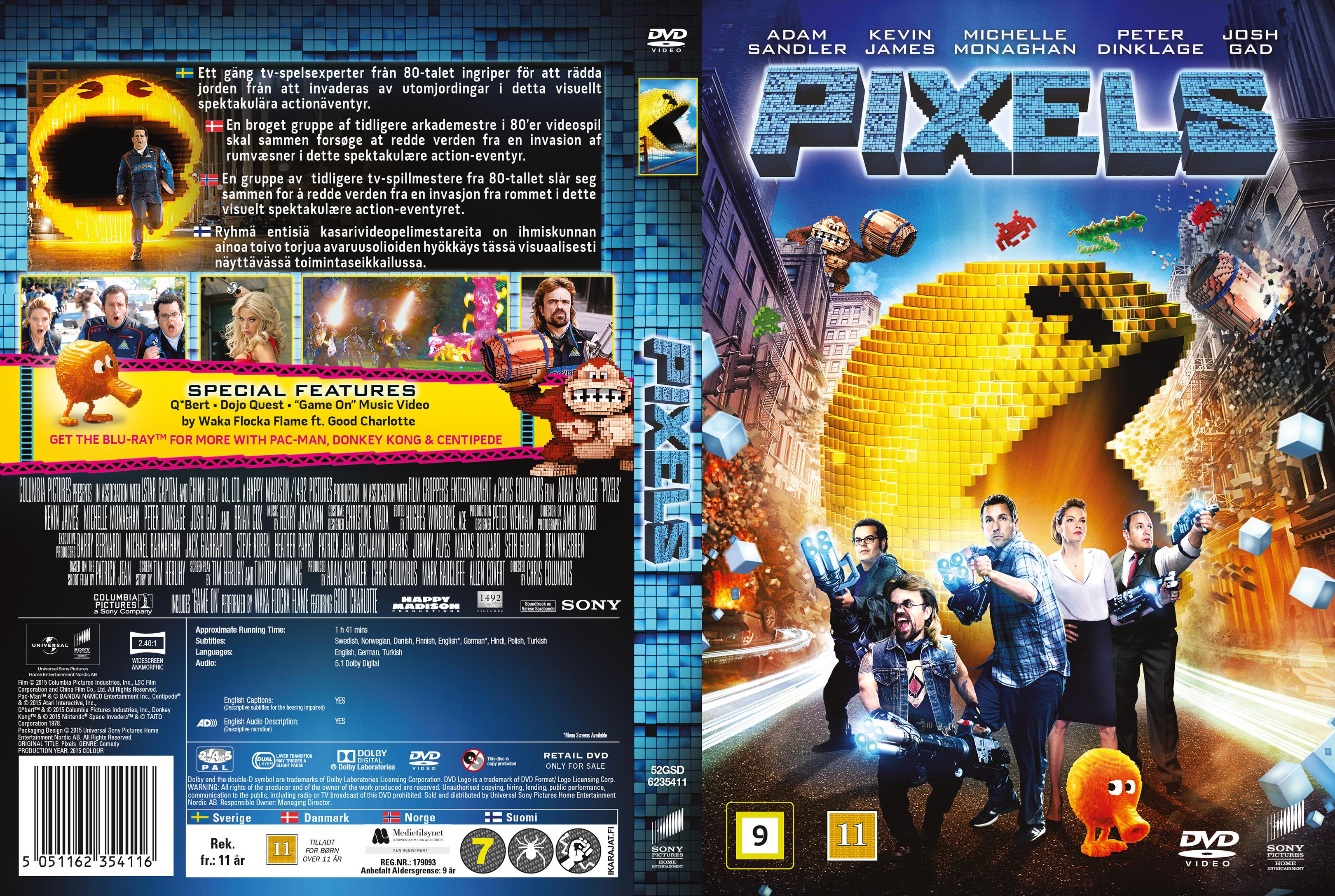 Pixels (2016) okładka