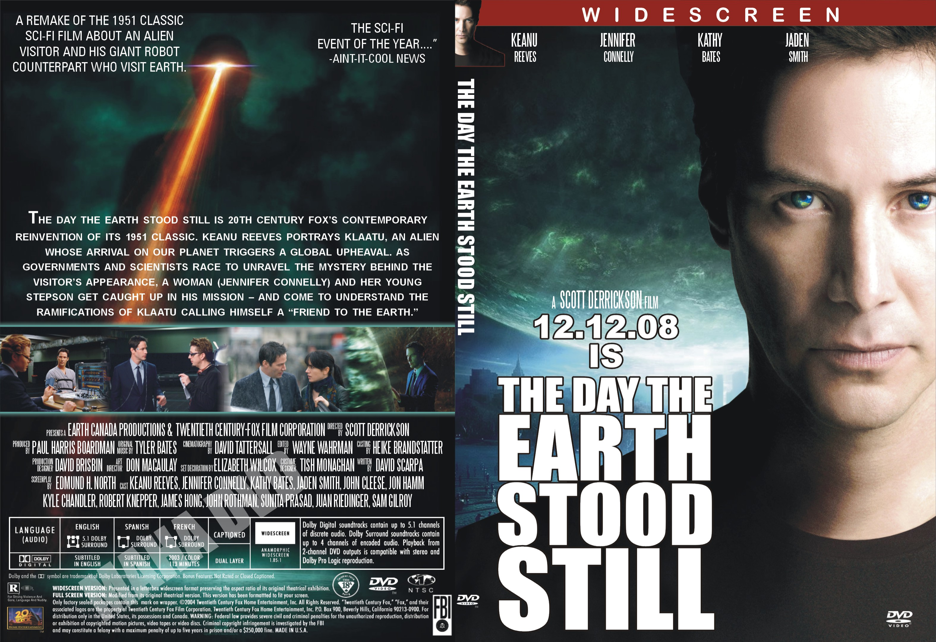 The Day the Earth Stood Still (2008) lektor PL