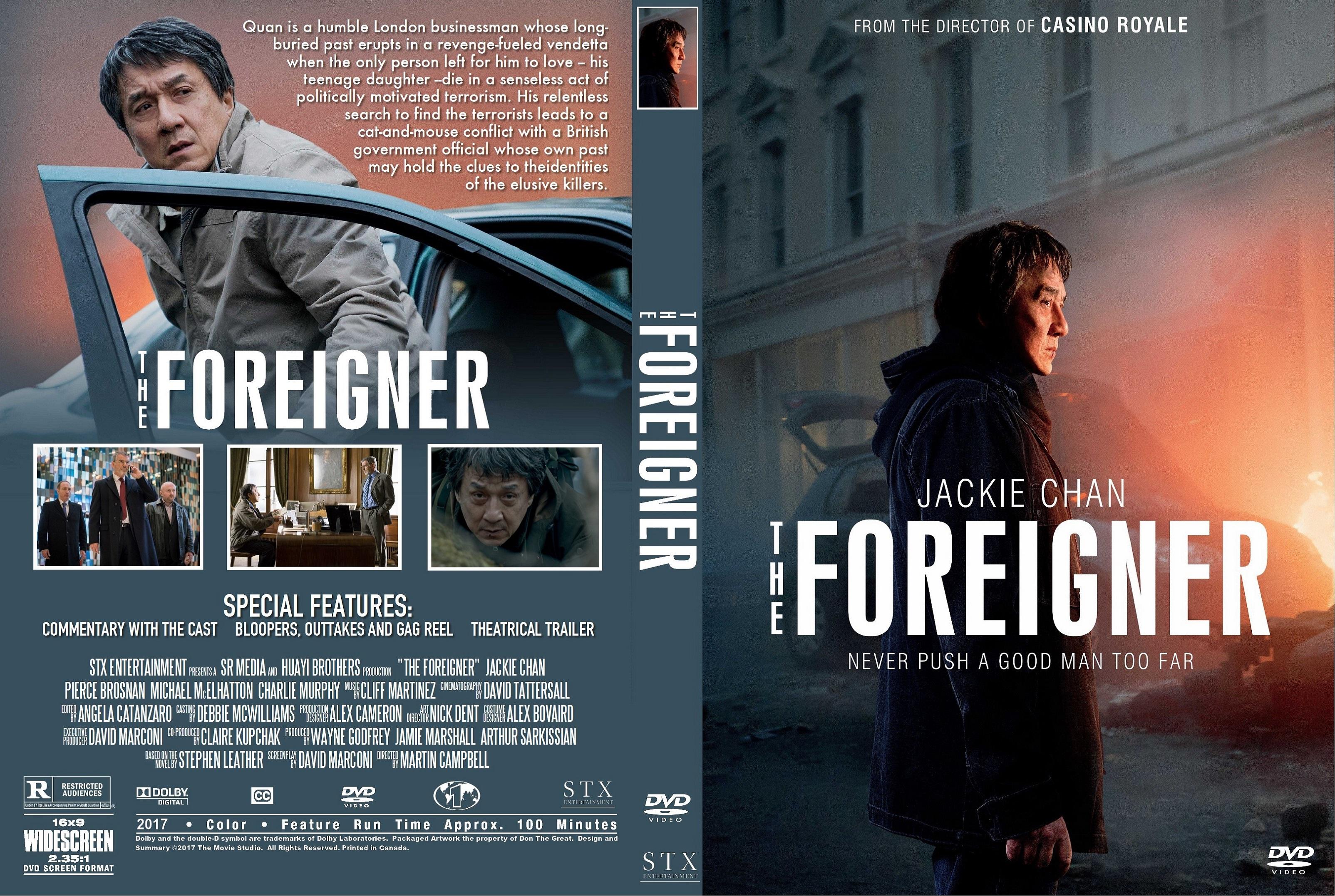 The Foreigner (2017) lektor PL